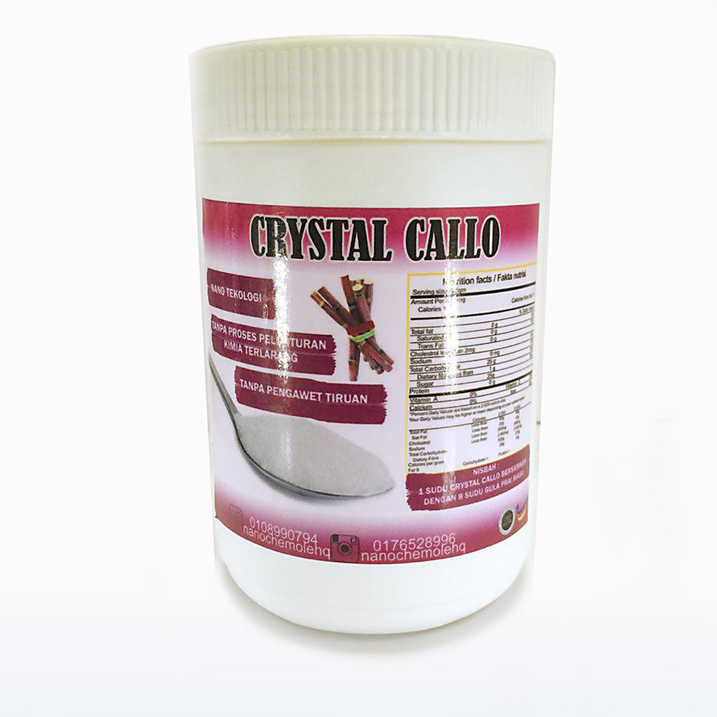 CRYSTAL CALLO SUGAR - 500gm