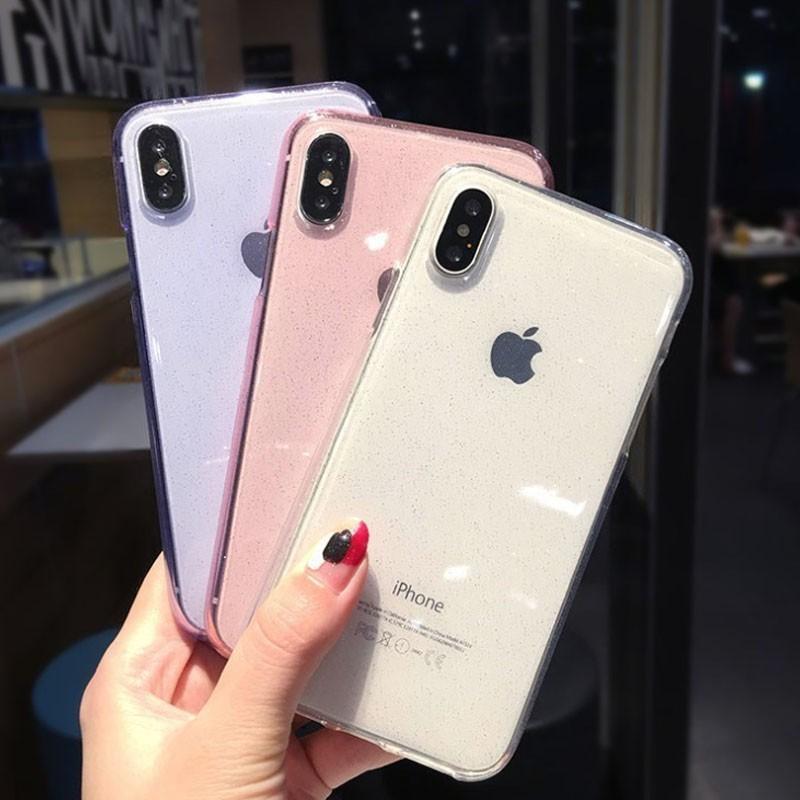 มีหลายสีให้เลือก เคส tpu iphone7/8plus iphoneX XR XSMAX iPhone6 iphone7/8 iphone