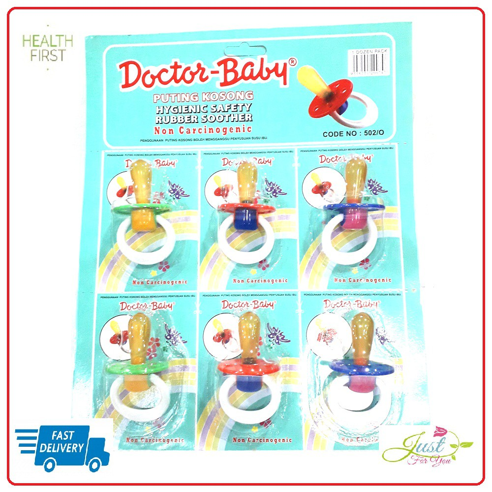 DOCTOR BABY SOOTHER 502 long & short (PUTING KOSONG)