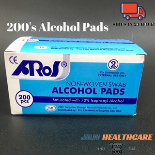 10pcs Medicare Alcohol Swabs Pads Preps Wipes Antiseptic Cleaning Tool flyup