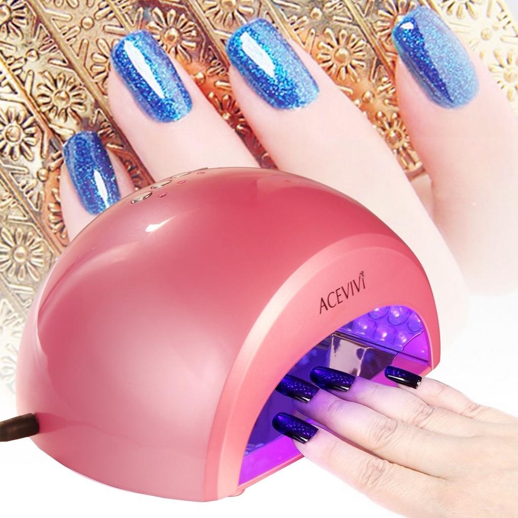ACEVIVI Portable 6W LED Light Lamp Gel Nail Dryer for Curing LED Gel & Gelish Nail Polish Black   Shopee Malaysia