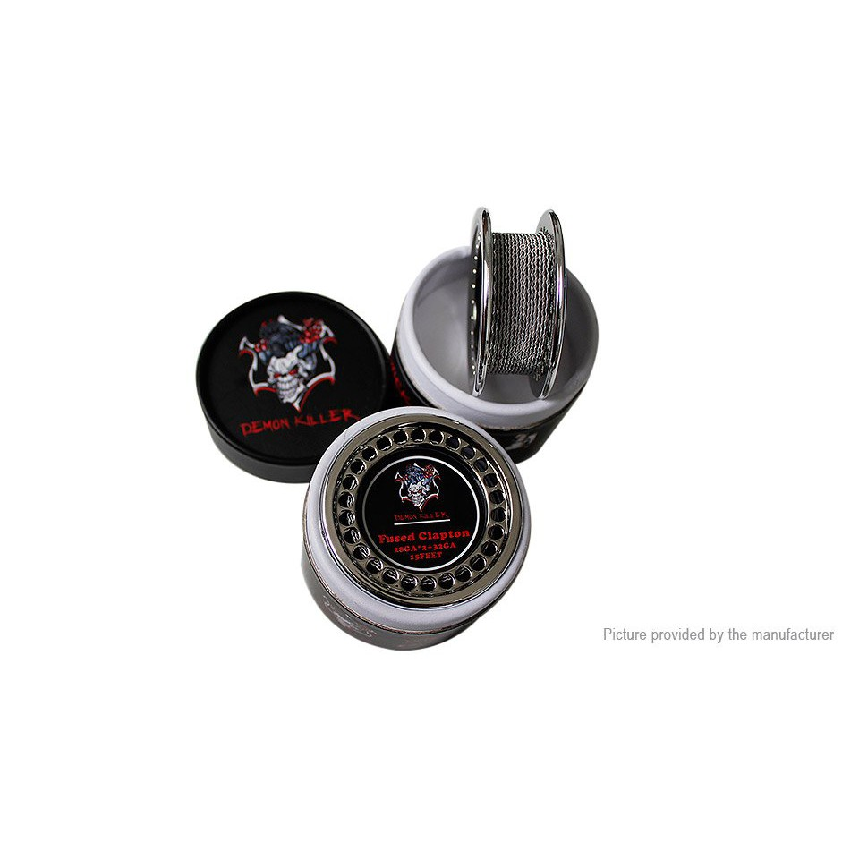Demon Killer Kanthal A1 Fused Clapton Wire | Shopee Malaysia