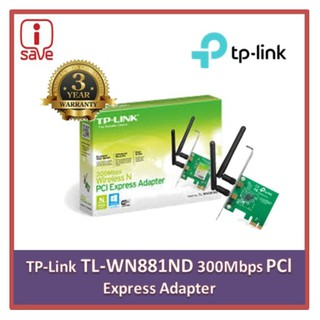 TP-LINK 300Mbps Wireless N PCI Express Adapter TL-WN881ND WiFi PCI-E