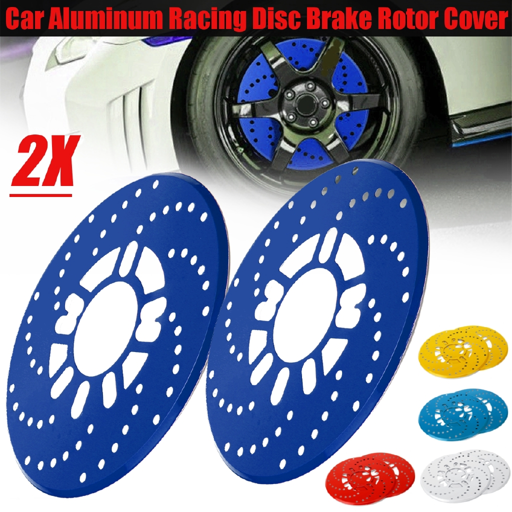 4pcs Red 3D Styling Disc Brake Caliper Cover Kit For Toyota 16-18 inch wheels