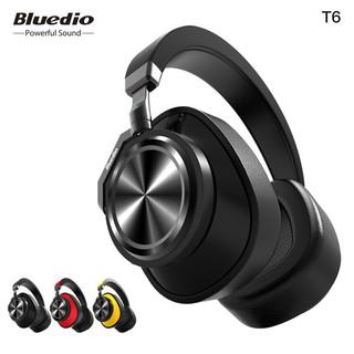 d84a21010e8 Bluedio T6 headphone Headset Bluetooth 5.0 Wireless MIC 57mm Drive ANC  -25dB VFT   Shopee Malaysia