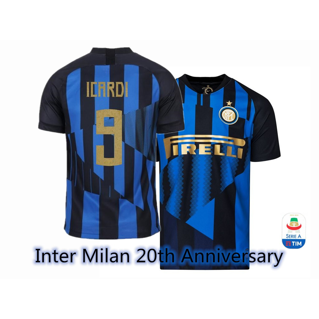 various colors df546 88cbf Top quality Inter Milan 20th Year Anniversary Football Jersey