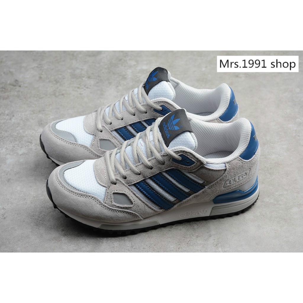 aa459a7958d62 Adidas ZX 750 Wolf Grey Navy Blue D65229