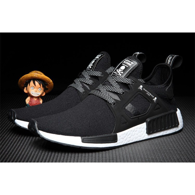 best cheap e0d3e b8c9d 100% Original Adidas NMD XR1 mastermind JAPAN MMJ BA9726 skull black/white  men's