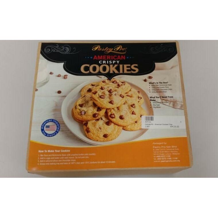 Cookies Kit - American Cookies Crisp