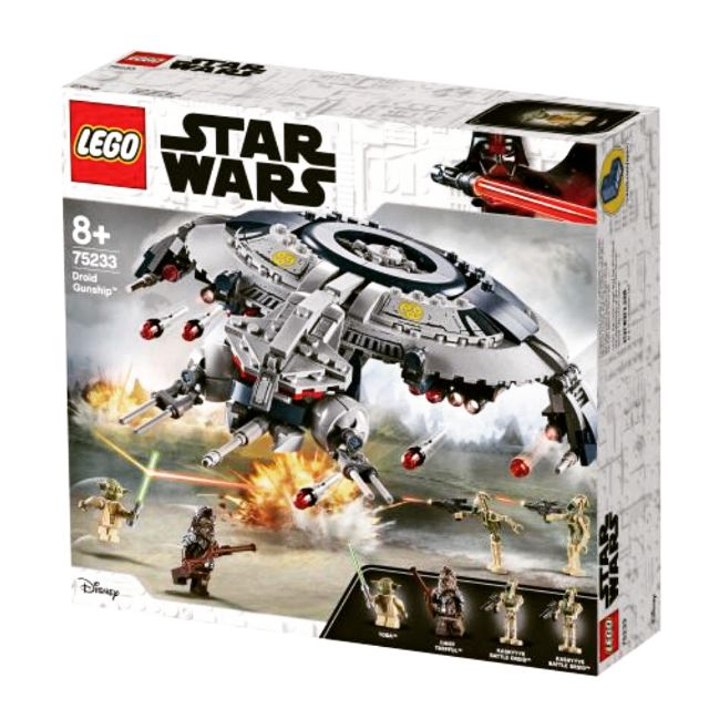 Lego Star Wars The Revenge Of The Sith Droid Gunship 75233 Building Kit 2019 329 Pieces Shopee Malaysia