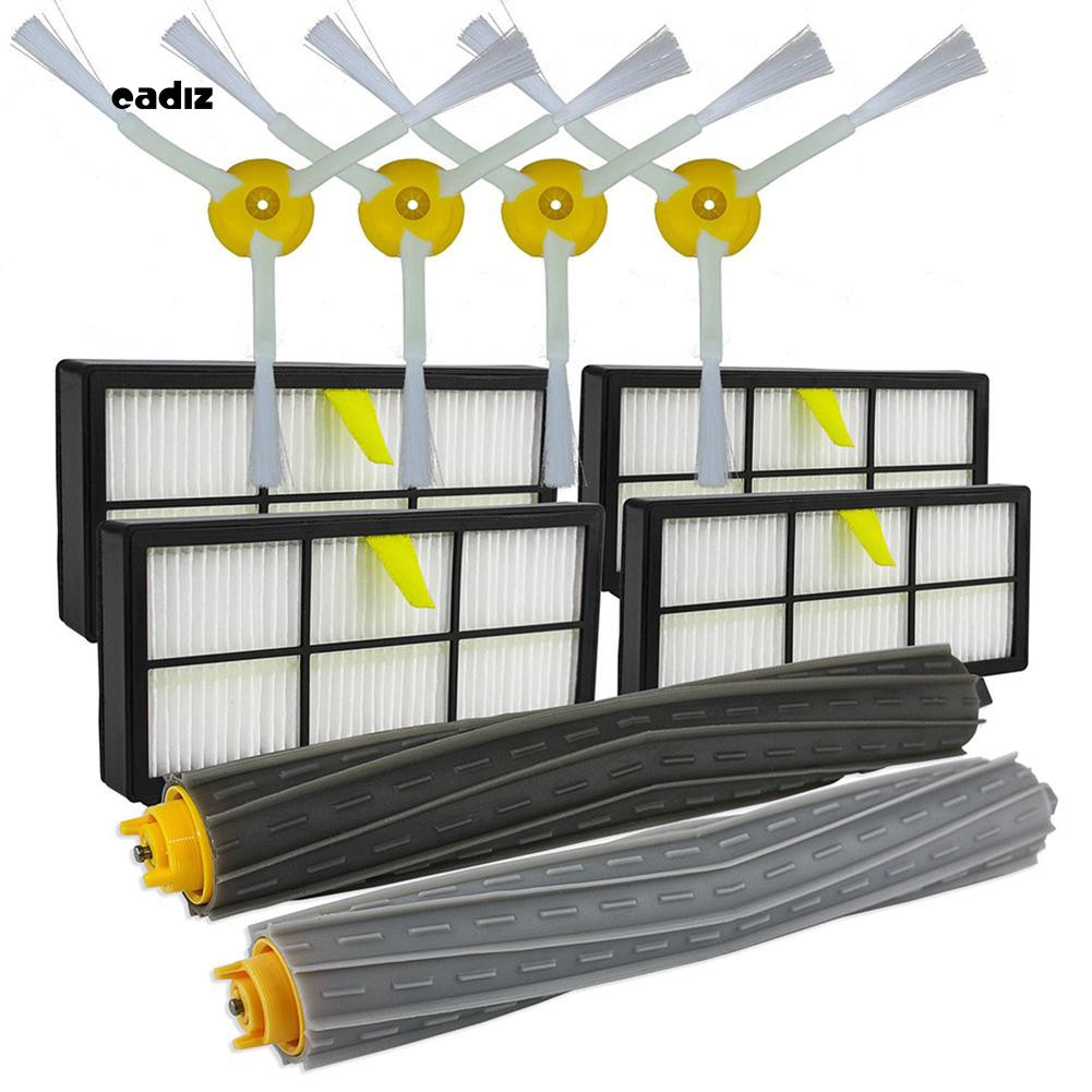 CAD_Filter Side Brushes Clean Replacement Tool Kit for iRobot Roomba 800  866 876 900