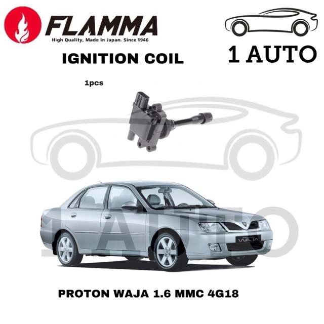 (MADE IN JAPAN) YEC FLAMMA IGNITION COIL for WAJA 1 6 4G18