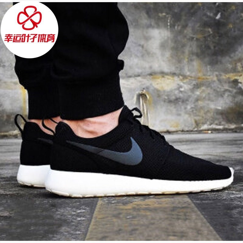 Nike men's shoes autumn and winter Roshe one Oreo retro sports shoes London casual running shoes 511881