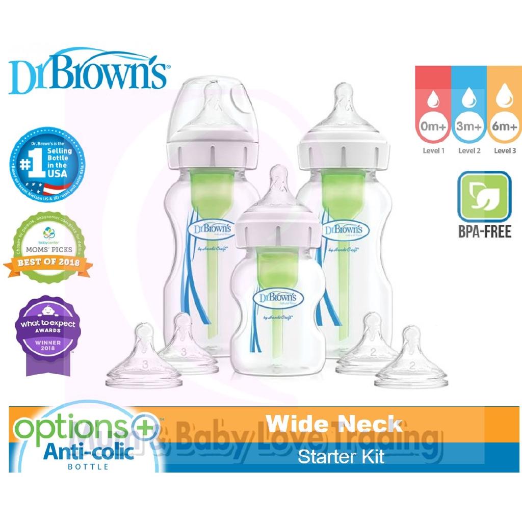 Dr Brown/'s Natural Flow Options Deluxe Starter Set