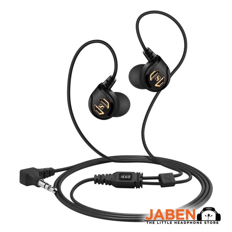 Sennheiserr IE 60 Outstanding Bass Response Noise Isolation In-Ear Earphones Jaben