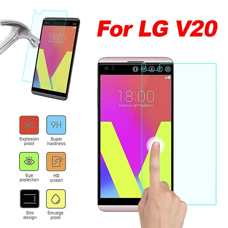 Premium Tempered Glass Screen Protective Guard  ฟิล์ม  For LG V20 Hot RLQA