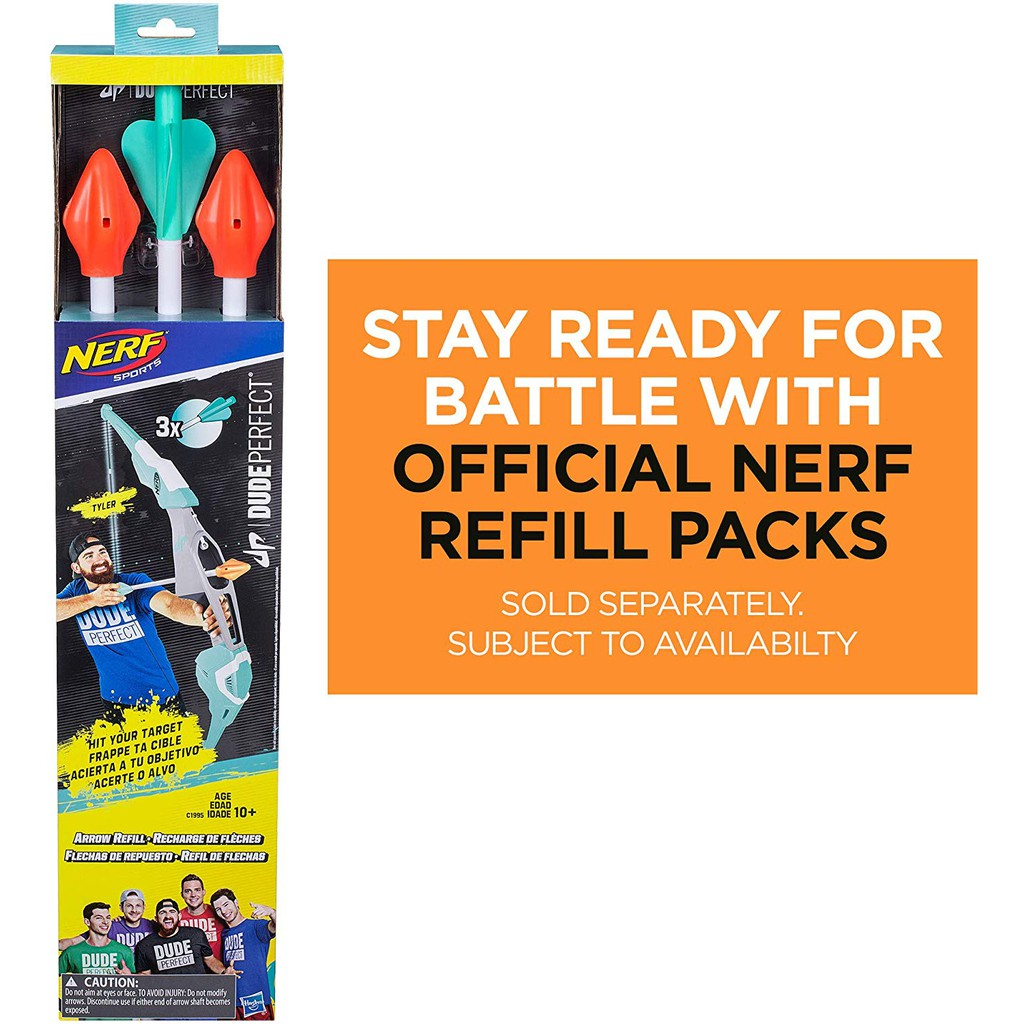 NERF Sports Dude Perfect Arrow Refill Exclusive