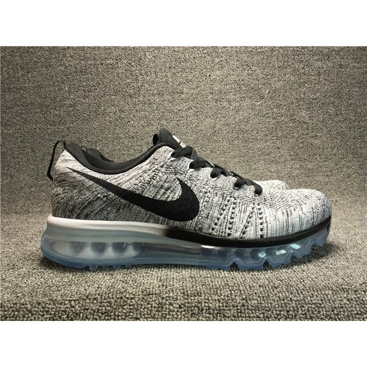 save off a4501 ccbe8 Ready stock original Nike FLYKNIT MAX men's casual sports sneakers running  shoes