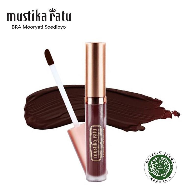 Mustika Ratu Lip Cream Matte Hotshot Hibiscus MR 4.7gr