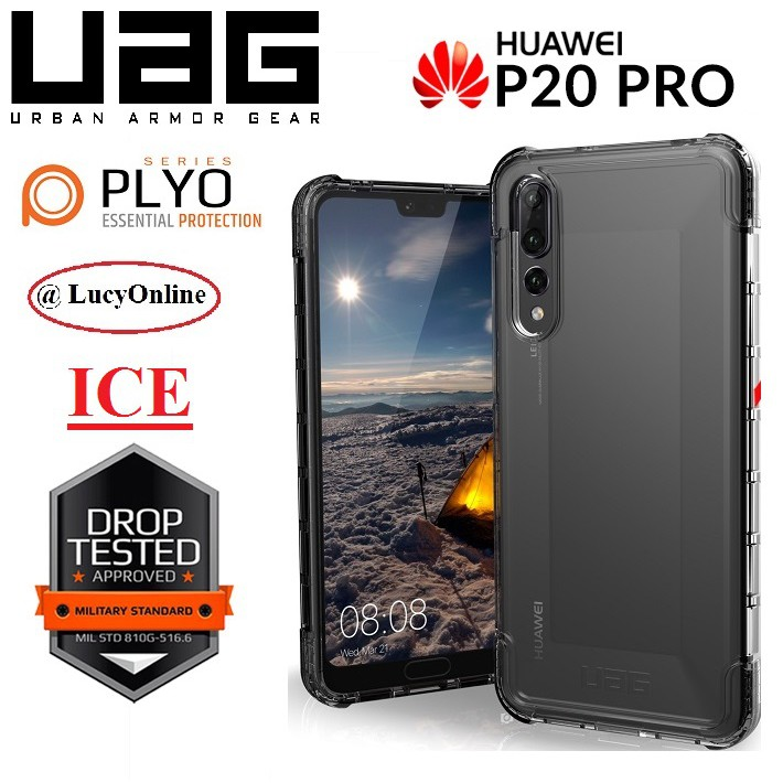 outlet store 2da43 43492 UAG Urban Armor Gear Plyo Series Huawei P20 Pro (Ice) - ORIGINAL