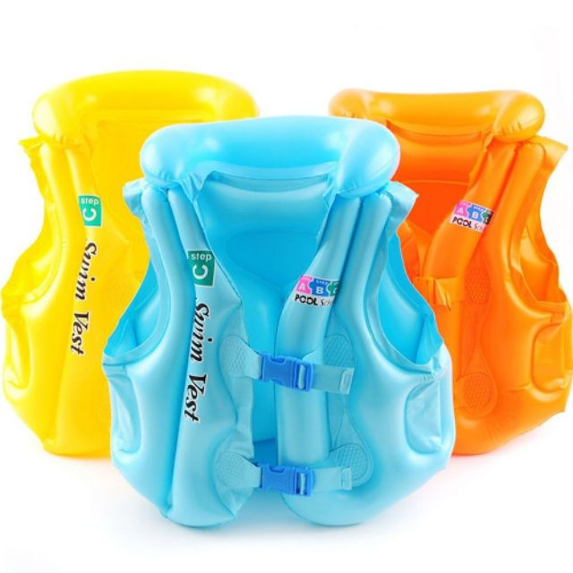 ???????? Kid Baby Aid Child Swimming Swim Pool Inflatable Vest Swimming Vest