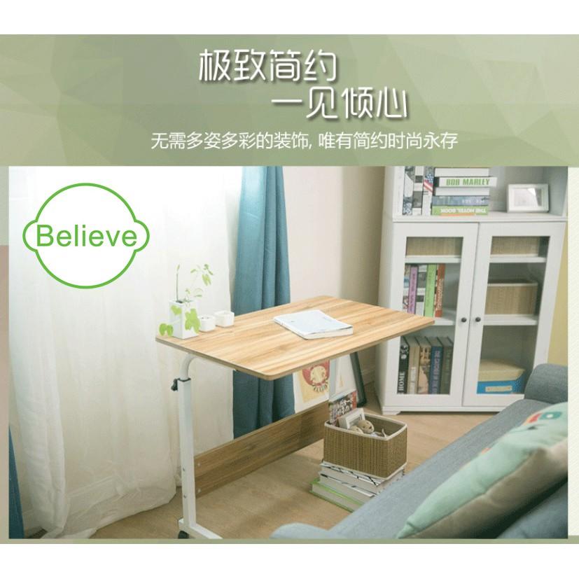Hot Sales Caster Wheel Adjustable Simple Table Bed Lazy Computer Desk
