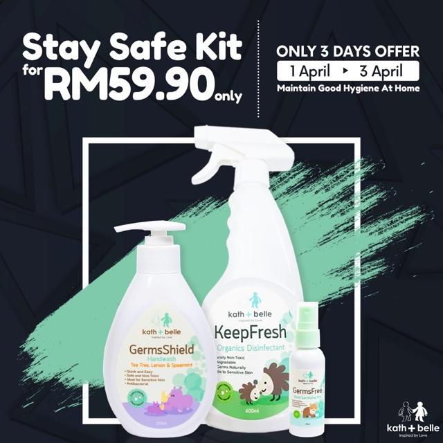 Kath + Belle Stay Safe Kit