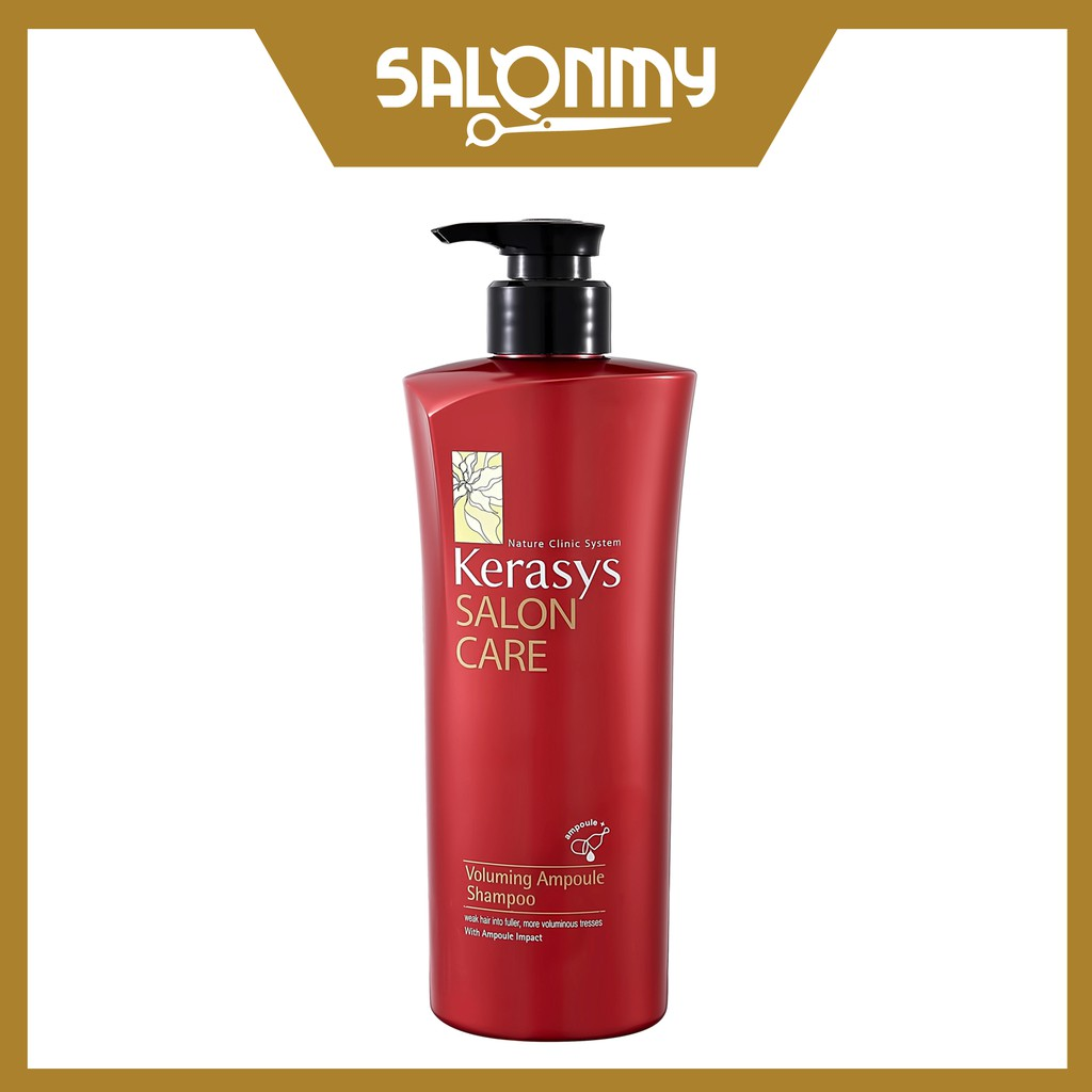 Kerasys Salon Care Ampoule Shampoo 600ml -Voluming