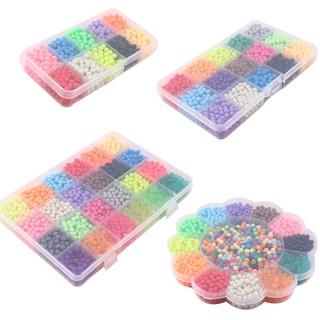 ♟♟alibabyToys Water Beads 10-24 Colors Sticky Perler Beads