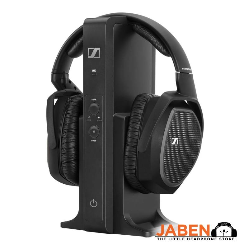 Sennheiser RS175 Movie Gaming Entertainment Long Range Optical RCA Input Wireless Over-Ear Closed Back Headphones[Jaben]