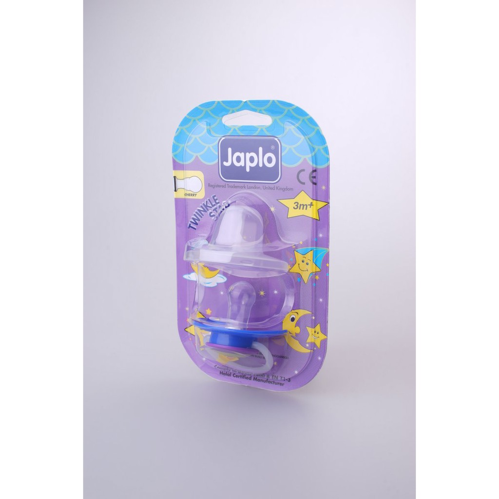 Japlo T/Star Cherry - Ts27 Soother - With Night Growth Handle- (With Cover)