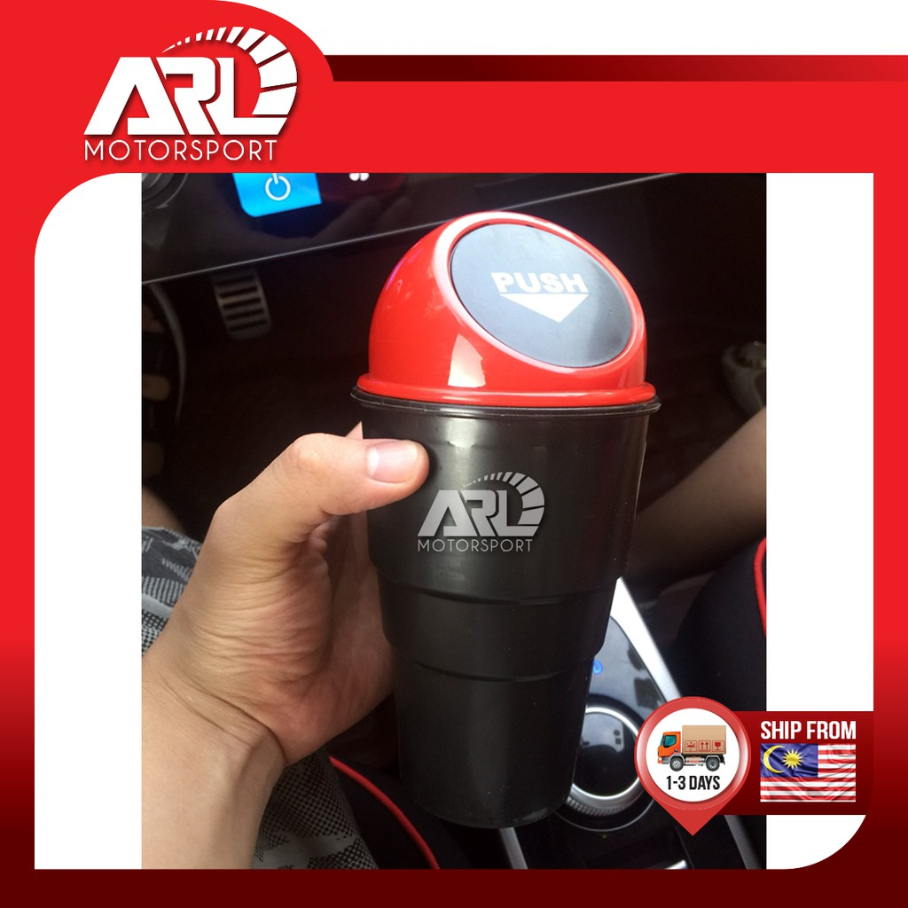 Mini Dustbin Car Mini Onboard Dustbin Car Auto Acccessories ARL Motorsport