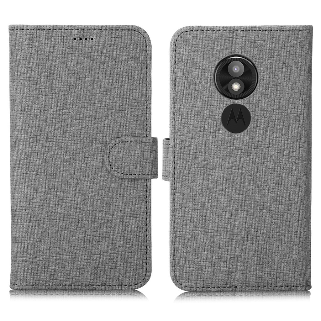 For Motorola MOTO E5 Play Phone Case Wallet Soft Flip Leather Protective  Cover