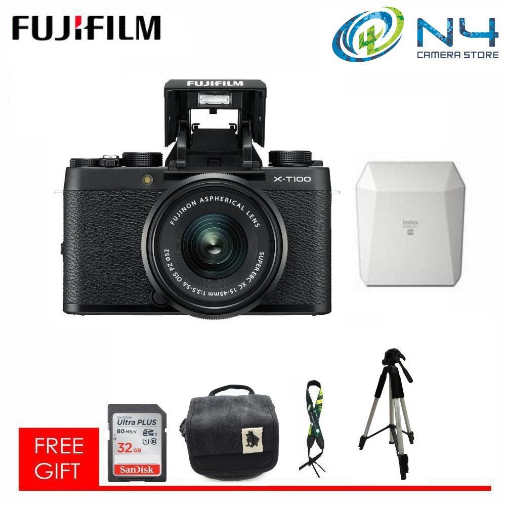 Fujifilm Xf 10 24mm F 4r Lm Ois Shopee Malaysia X T2 Body Black Pwp 23mm 14