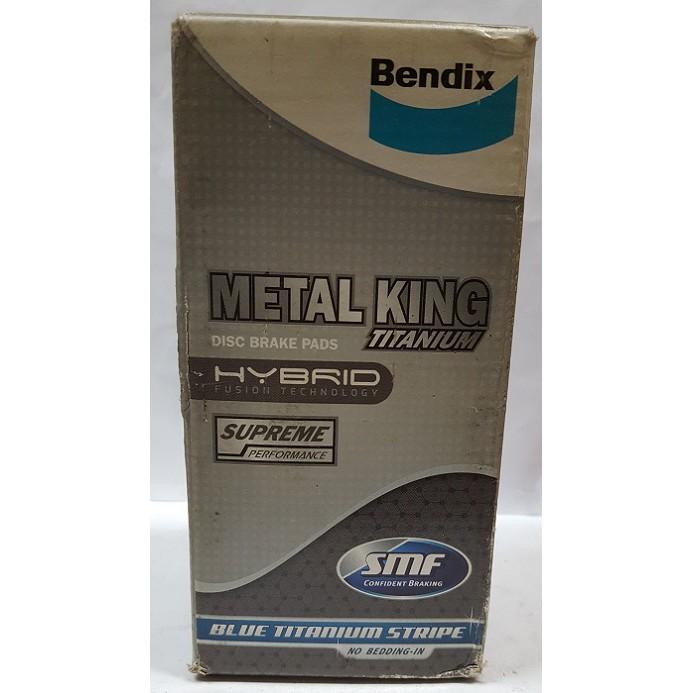 Bendix Metal King Titanium Disc Brake Pad Front for DB1267 Toyota Caldina/Camry/Corolla/Corona/Ipsum