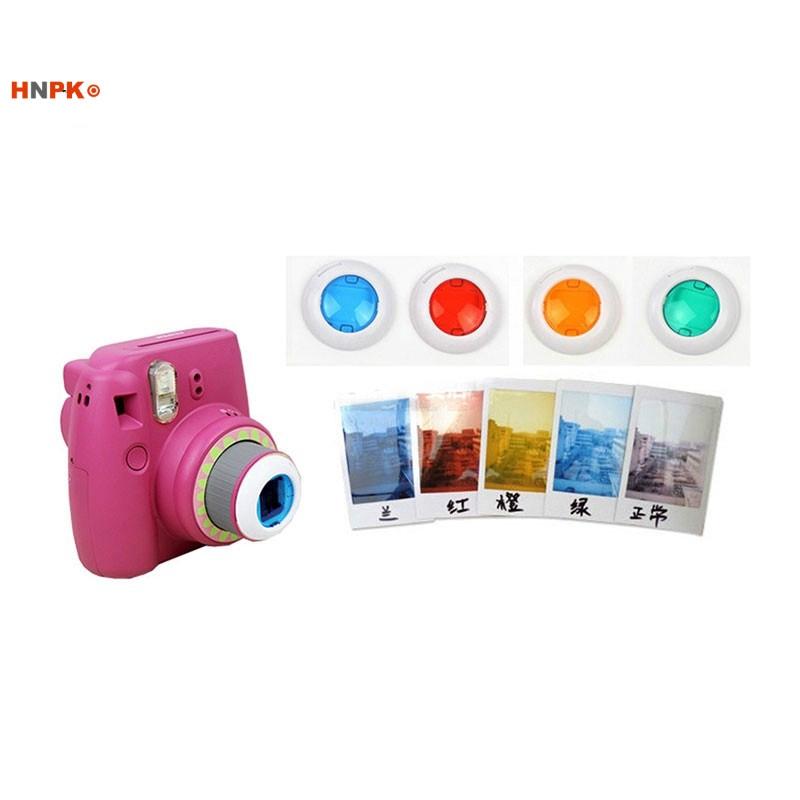 HARU Polaroid camera, color filter, special effects lens, self artifact MI