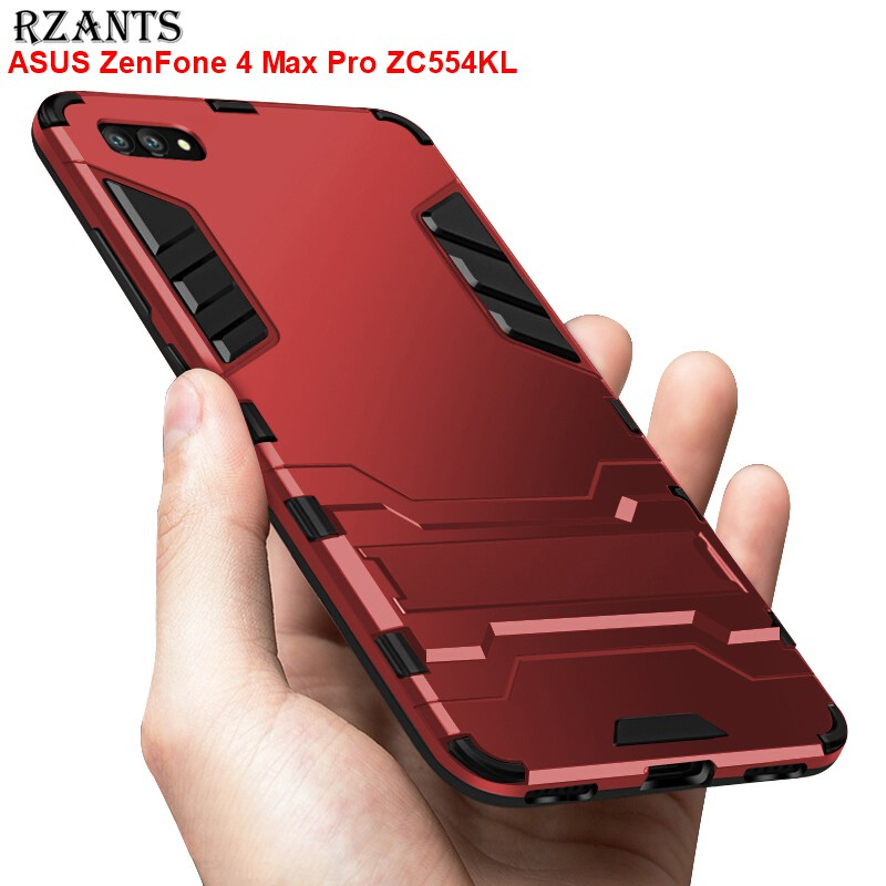 separation shoes fcb61 290c3 ASUS ZenFone 4 Max Pro ZC554KL Armor Case with Kickstand Heavy Duty Hard  Cover
