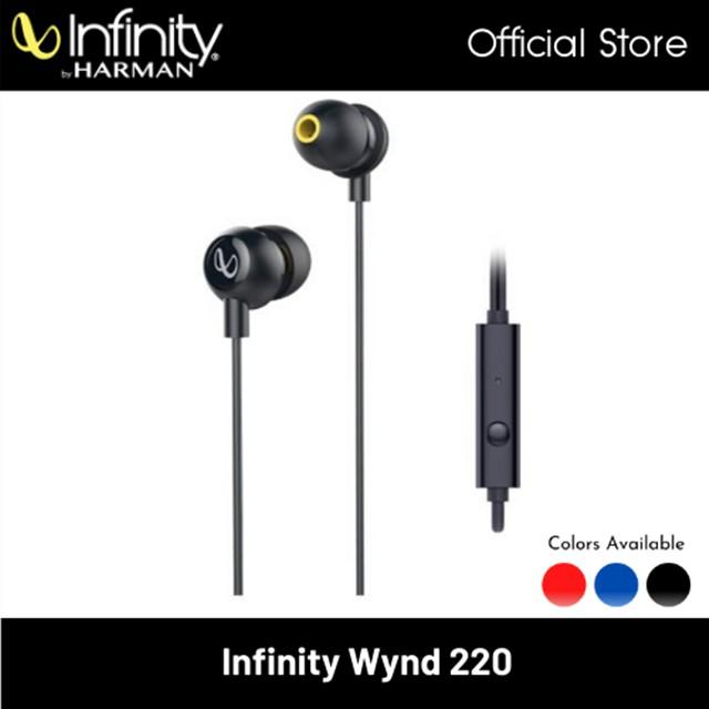 Infinity Wynd 220 Stereo In-Ear Headphone