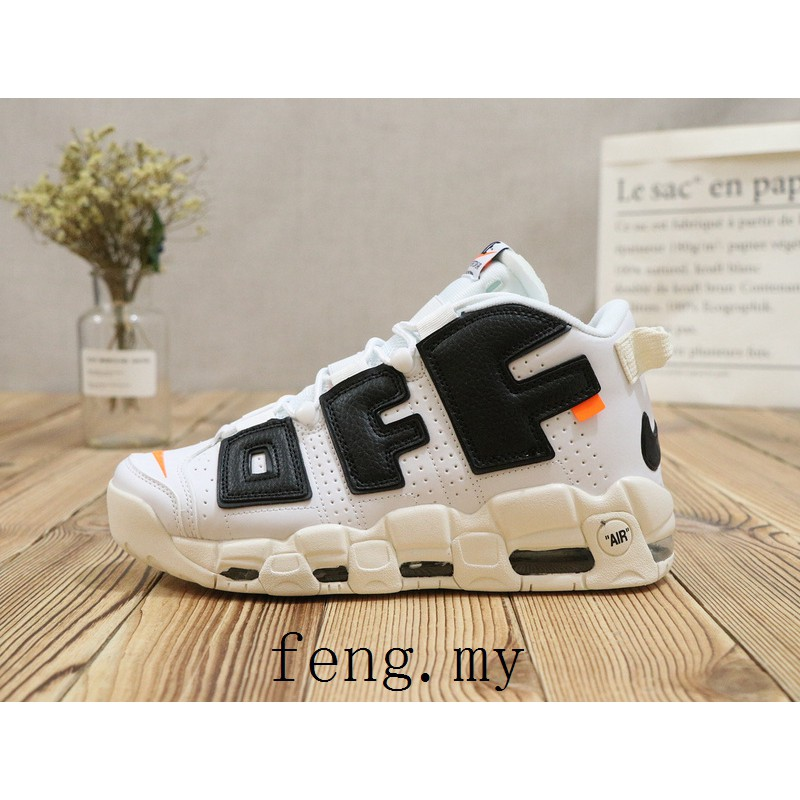 4cdb0c79818a2 Discount Men's Nike Supreme x Air More Uptempo Fashion Sport Shoes 902290  600 | Shopee Malaysia