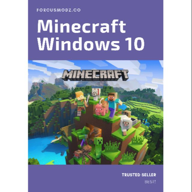 Minecraft [Windows 10 Edition] ⚠️🔥HOT 🔥!