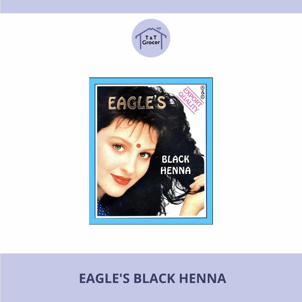 Eagle's Henna Pewarna Rambut (Black Henna/ Brown Henna)