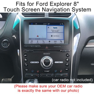 Tempered Glass Screen Protector for Ford Explorer 8