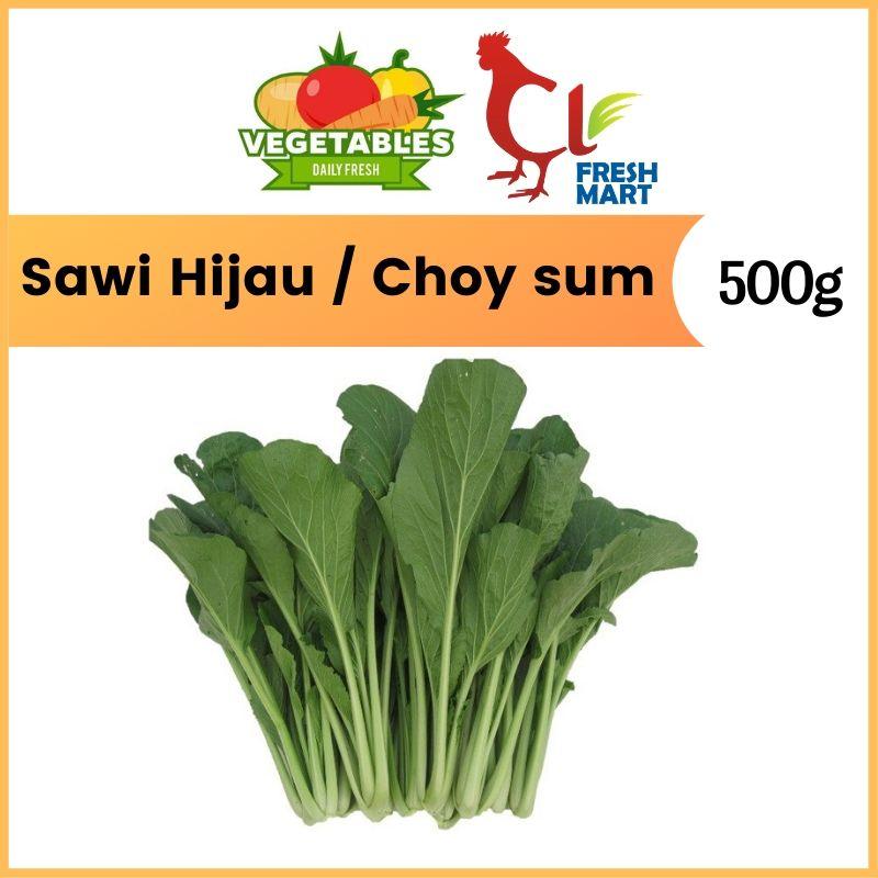 Sawi Hijau / Choy Sum (500G)