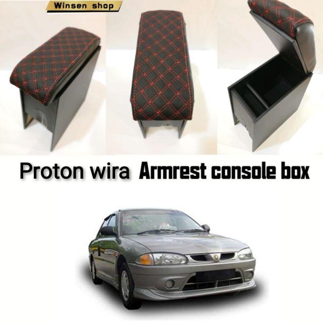 Proton wira armrest console box