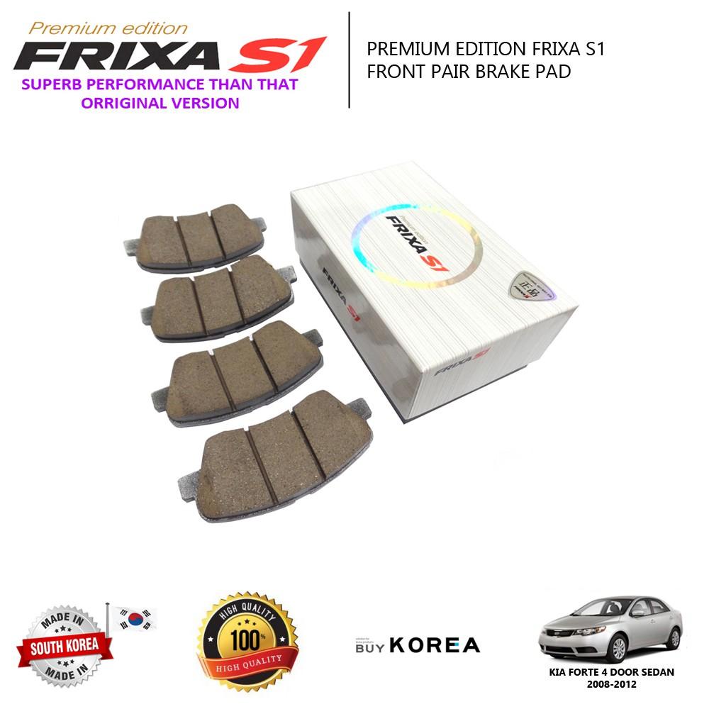 Kia Forte 1 6 & 2 0 Front Premium Edition Frixa S1 Brake Pad