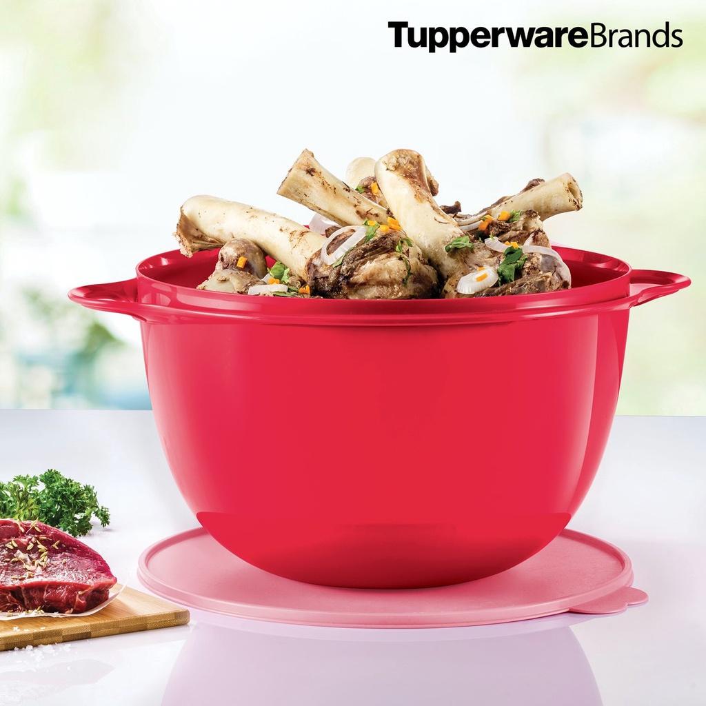 {Ready Stock} Tupperware Jumbo That's A Bowl 14L (1pc) / 10L Mega Bowl (1pc) - Pink