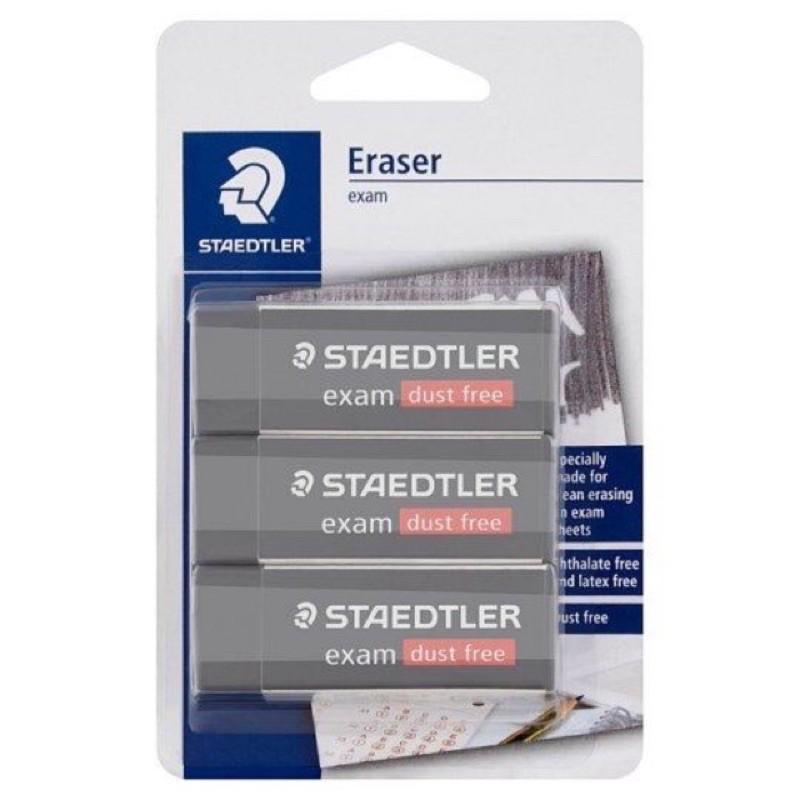 【READY STOCK】STAEDTLER Exam Dust Free Eraser 20D 3pcs