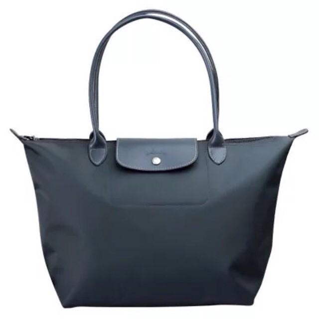 825048b9badb (Premium Quality) Longchamp Le Pliage Miaou Cat Tote Bag (medium   large)