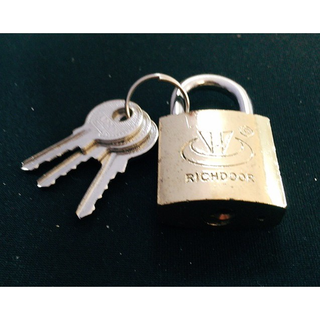 RICHDOOR Electroplated Security Padlock RD232 25mm