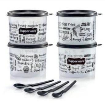 Tupperware Junior Trends Kitchenette Set (4pcs)570ml